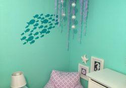 Mermaid Bedroom Decor