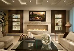 Living Room Contemporary Interior Design