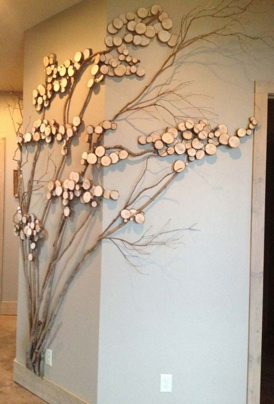 DIY Tree Branch Decor