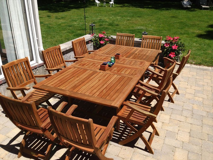 Teak Wood Outdoor Furniture