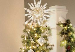 Lighted Christmas Tree Toppers