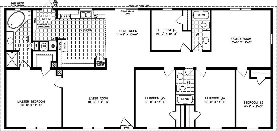 5 Bedroom Modular Homes