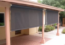 Outdoor Roll Down Shades