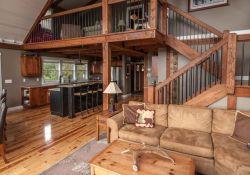 Pole Barn House Interior