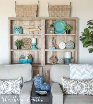 Affordable Living Room Summer Decorating Ideas 15