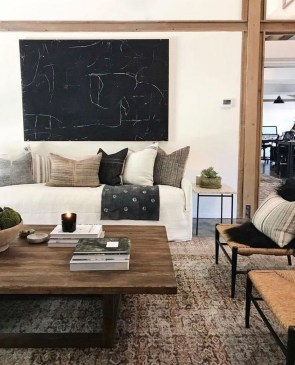 Affordable Living Room Summer Decorating Ideas 26