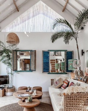 Affordable Living Room Summer Decorating Ideas 27