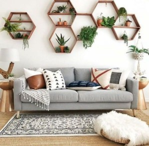 Affordable Living Room Summer Decorating Ideas 40