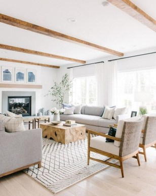 Affordable Living Room Summer Decorating Ideas 45