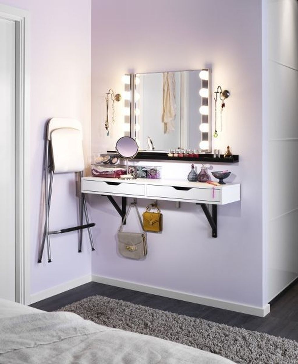 Casual Dressing Table Ideas In Your Room 02