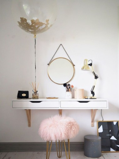 Casual Dressing Table Ideas In Your Room 51