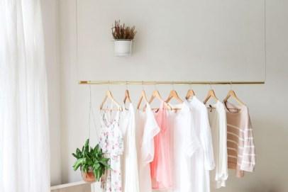 Classy Design Ideas An Organised Open Wardrobe 05