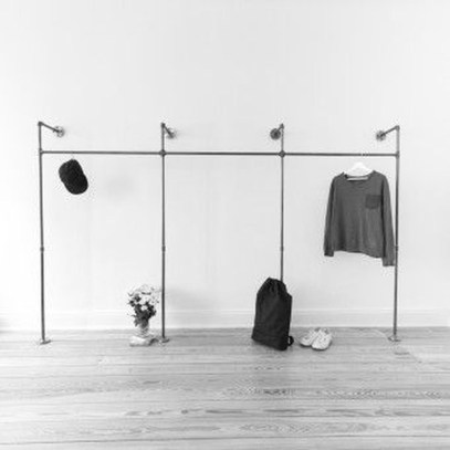 Classy Design Ideas An Organised Open Wardrobe 06