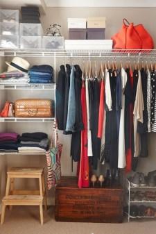 Classy Design Ideas An Organised Open Wardrobe 13