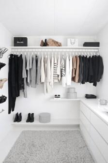 Classy Design Ideas An Organised Open Wardrobe 16