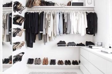 Classy Design Ideas An Organised Open Wardrobe 24