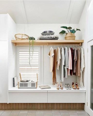 Classy Design Ideas An Organised Open Wardrobe 25