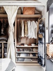 Classy Design Ideas An Organised Open Wardrobe 30