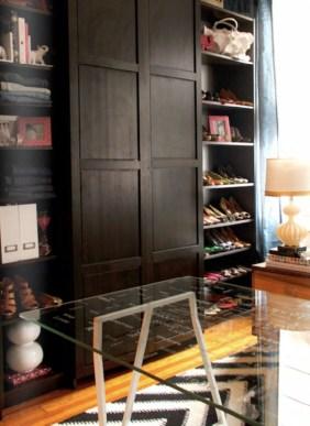 Classy Design Ideas An Organised Open Wardrobe 31
