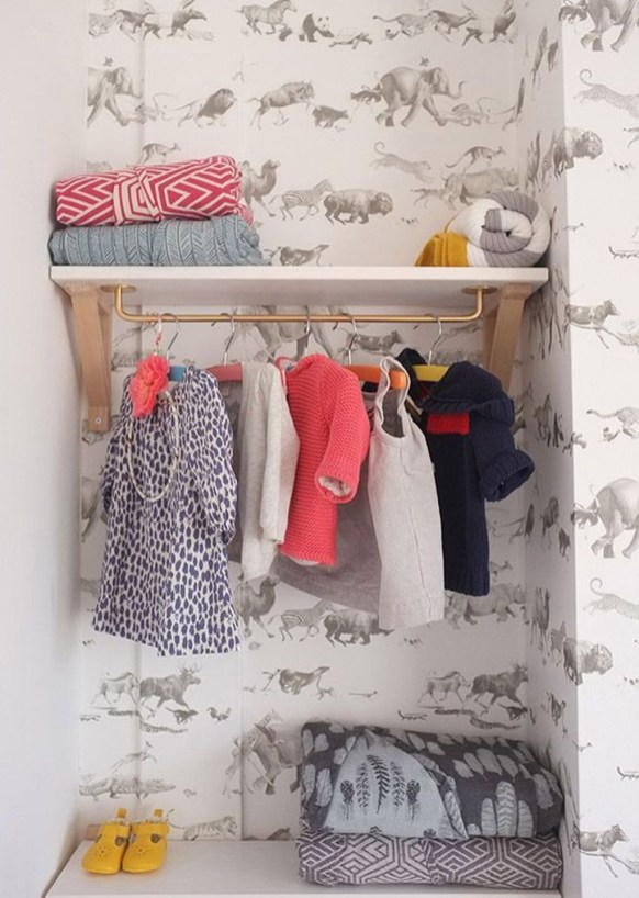 Classy Design Ideas An Organised Open Wardrobe 39