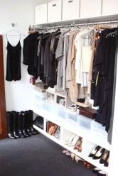 Classy Design Ideas An Organised Open Wardrobe 44
