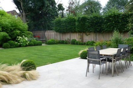 Perfect Green Grass Design Ideas For Front Yard Garden 32