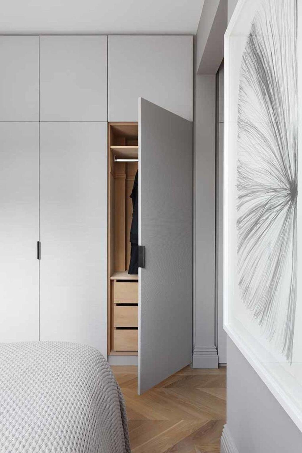 Rustic Wardrobe Design Ideas That Is In Trend 46