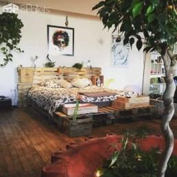 Amazing Bedroom Pallet Design Ideas 22