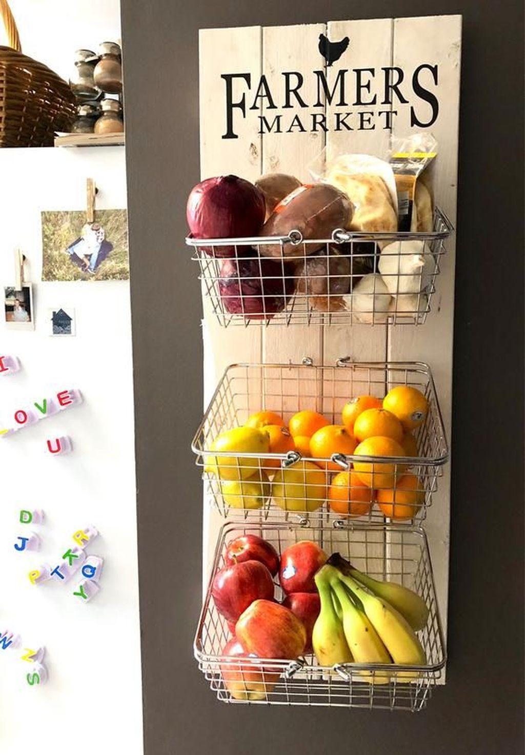 Amazing Organized Farmhouse Kitchen Decor Ideas 23