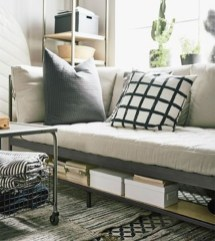 Casual Sofa Ideas With Storage Underneath For Small Space 28