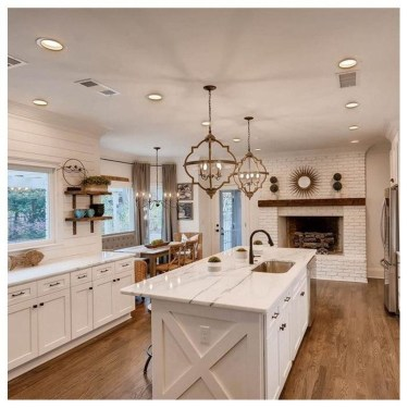 Chic Kitchen Style Ideas For Comfortable Old Kitchen 34