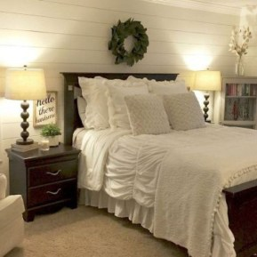 Cool French Country Master Bedroom Design Ideas With Farmhouse Style 02