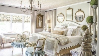 Cool French Country Master Bedroom Design Ideas With Farmhouse Style 27