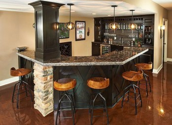 Delicate Home Bar Design Ideas That Make Your Flat Look Great 05