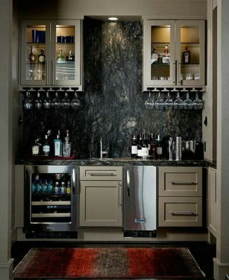 Delicate Home Bar Design Ideas That Make Your Flat Look Great 17