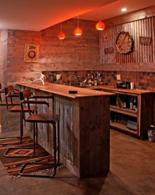 Delicate Home Bar Design Ideas That Make Your Flat Look Great 26
