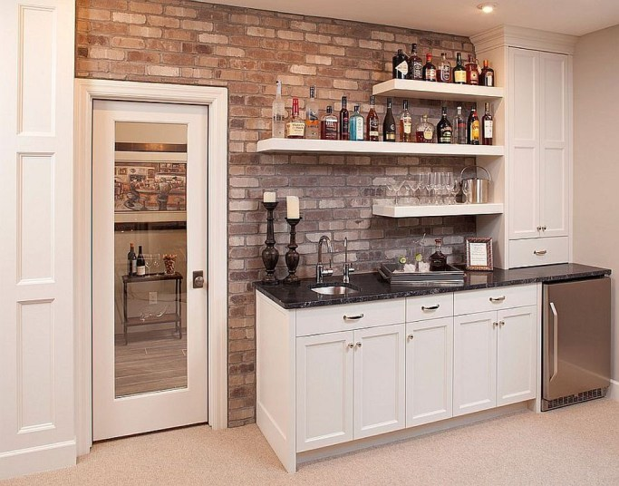 Delicate Home Bar Design Ideas That Make Your Flat Look Great 37