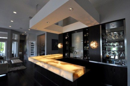 Delicate Home Bar Design Ideas That Make Your Flat Look Great 41