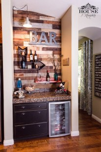 Delicate Home Bar Design Ideas That Make Your Flat Look Great 46