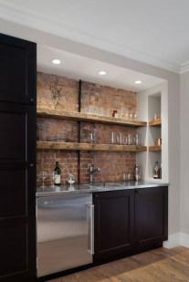 Delicate Home Bar Design Ideas That Make Your Flat Look Great 47