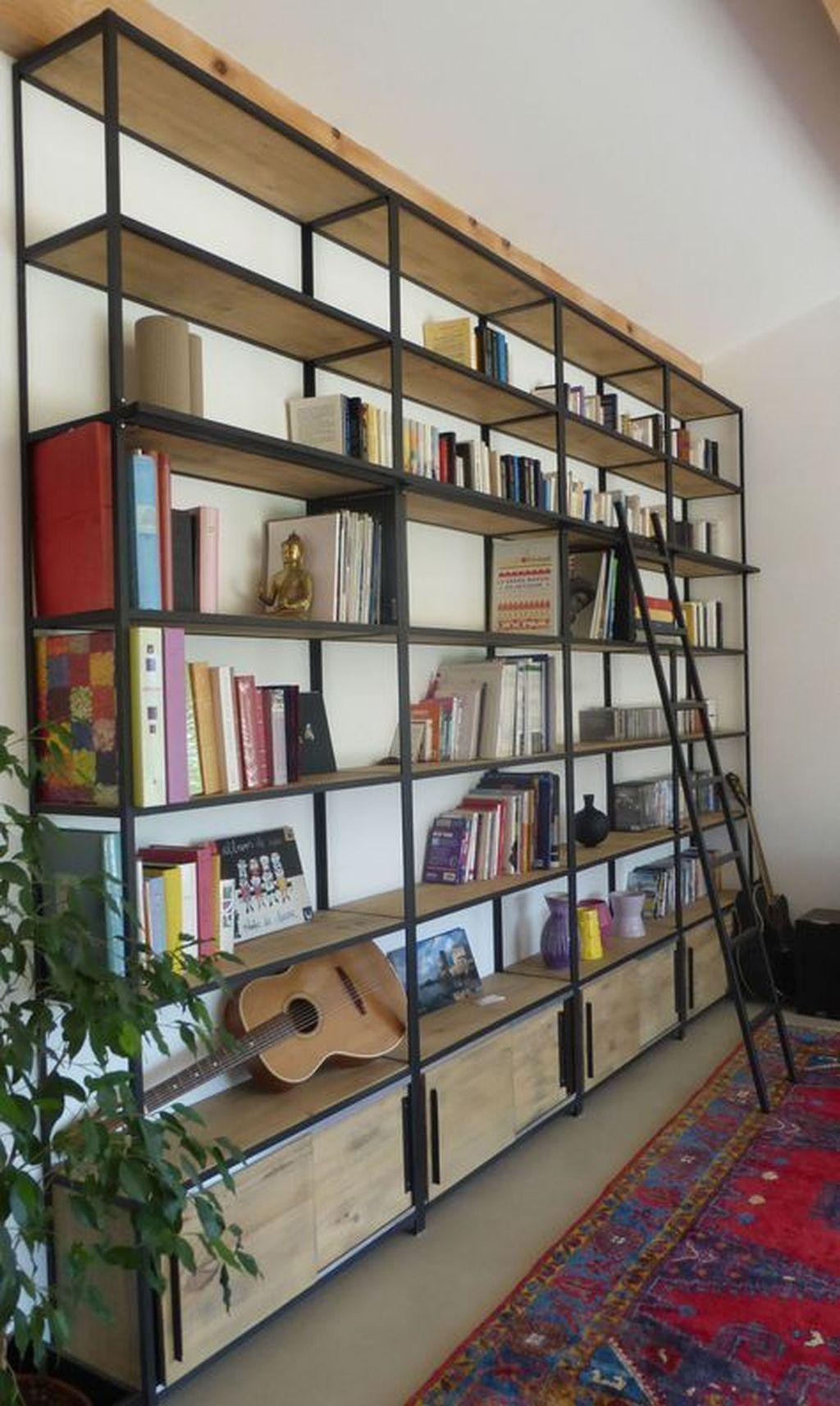Elegant Bookshelves Decor Ideas That Trending Today 18
