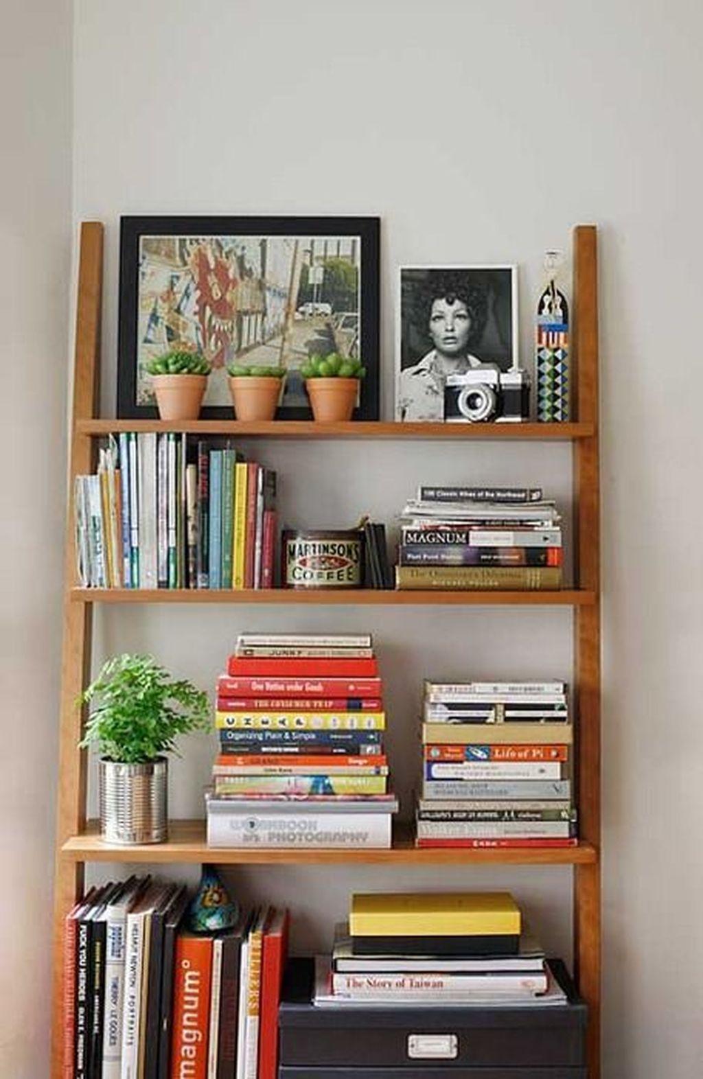 Elegant Bookshelves Decor Ideas That Trending Today 19