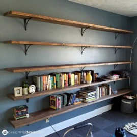 Elegant Bookshelves Decor Ideas That Trending Today 26