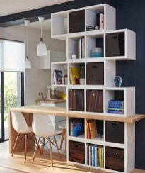 Elegant Bookshelves Decor Ideas That Trending Today 31