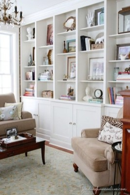 Elegant Bookshelves Decor Ideas That Trending Today 38