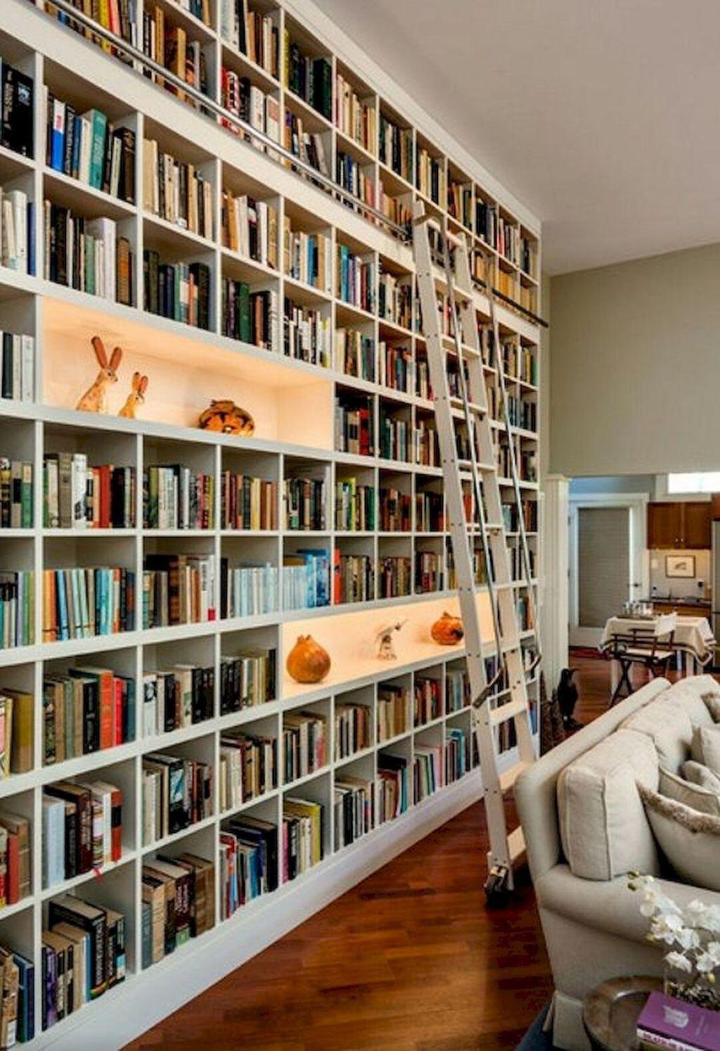 Elegant Bookshelves Decor Ideas That Trending Today 41
