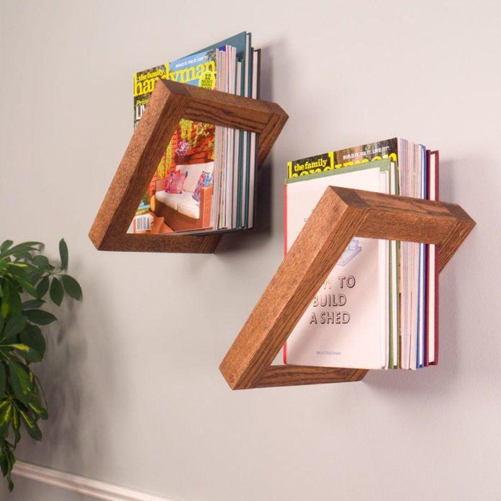 Elegant Bookshelves Decor Ideas That Trending Today 43