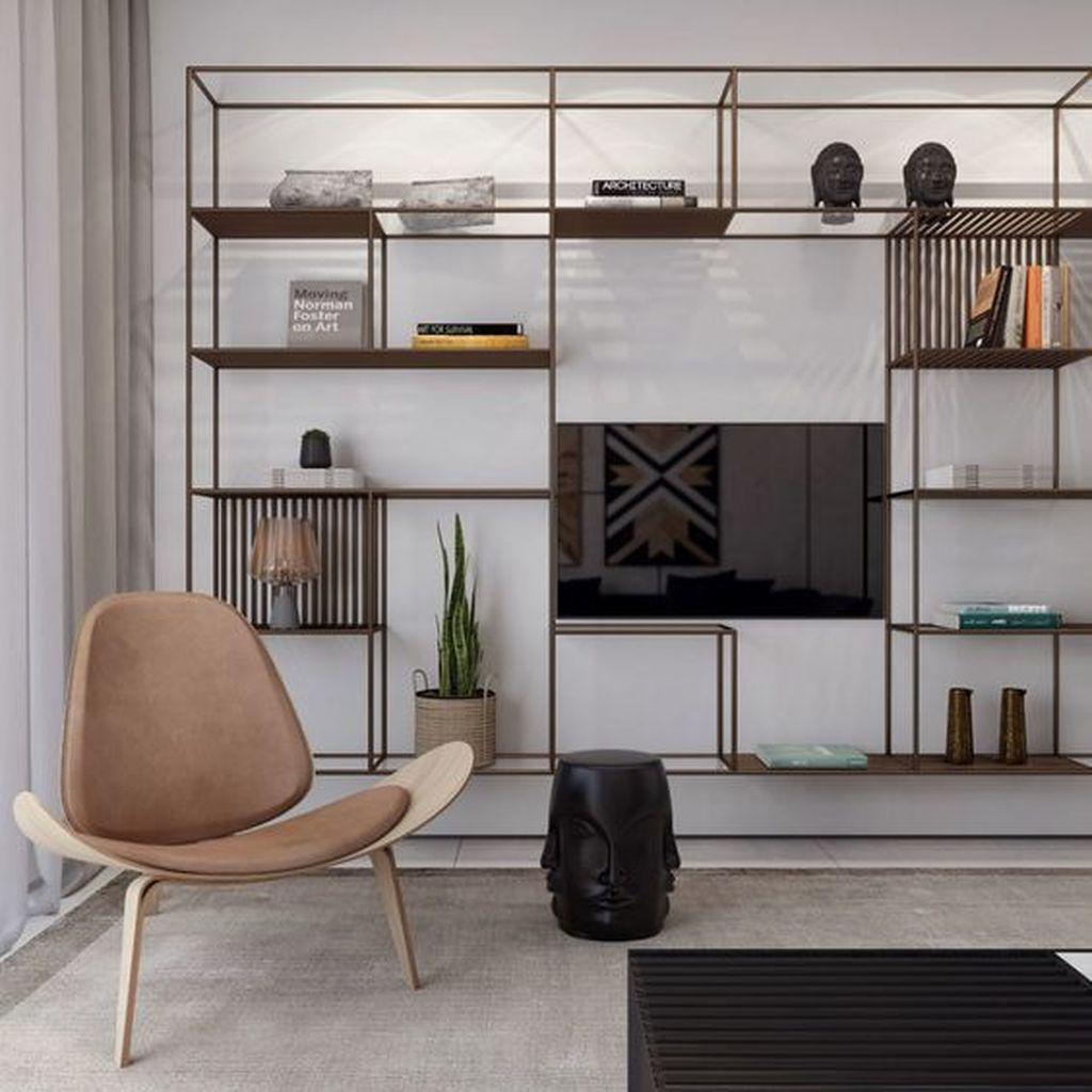 Elegant Bookshelves Decor Ideas That Trending Today 56