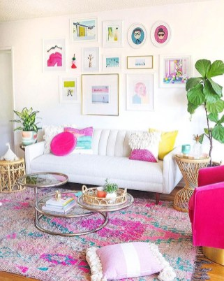 Lovely Colorful Living Room Decor Ideas For Summer 09