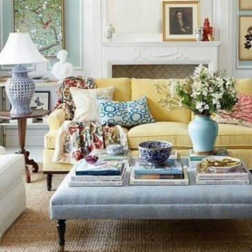 Lovely Colorful Living Room Decor Ideas For Summer 16